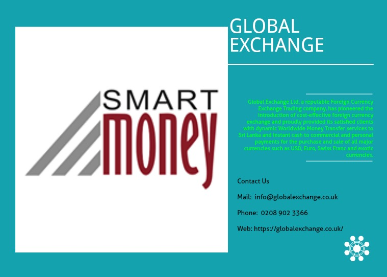 Global Exchange Smart way to transfer your money online