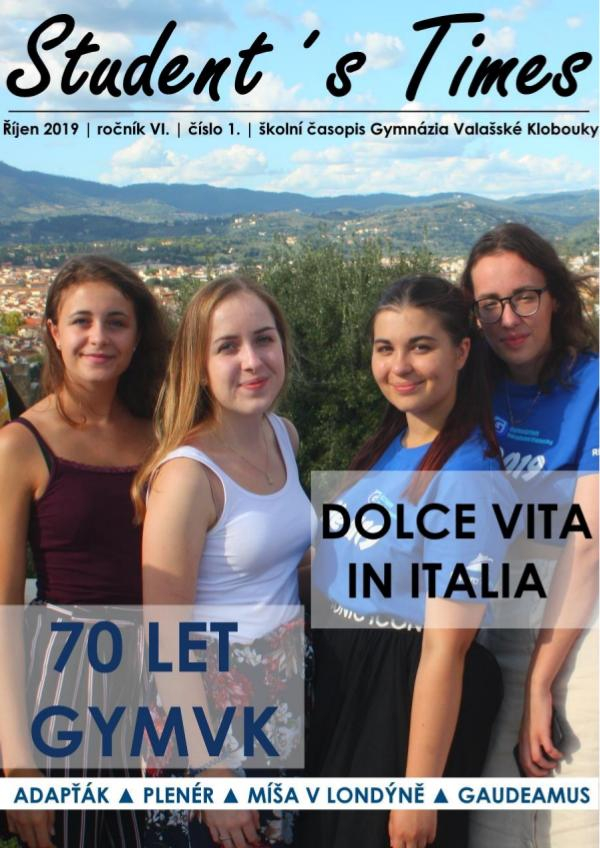 STUDENT´S TIMES 2019/10/18