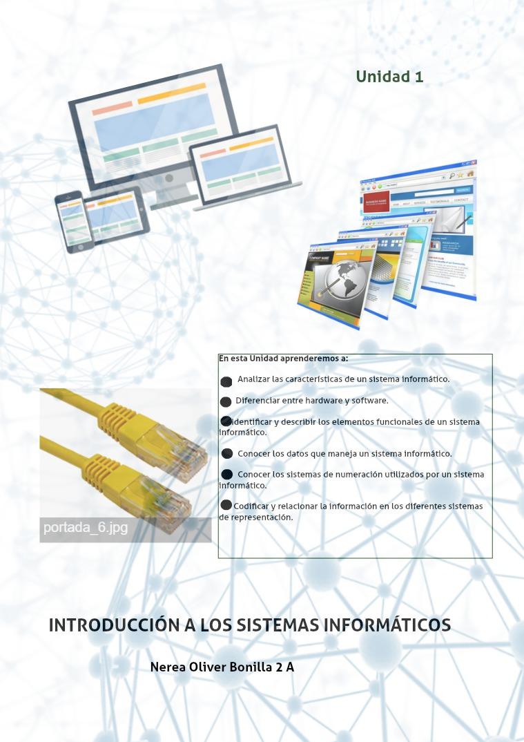 1 ejercicio Introduccion a los sistemas informaticos 1 ejercicio Introduccion a los sistemas informatic