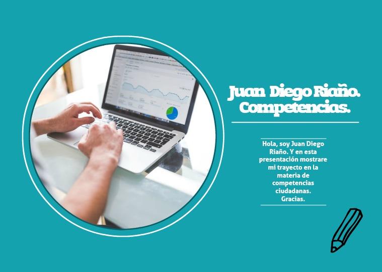 Revista Juan Diego Riaño. Juan Diego Riaño.
