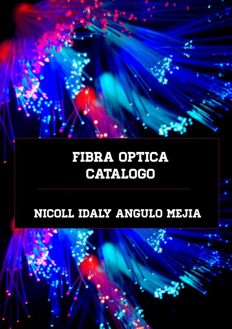 FIBRA OPTICA Fibra optica