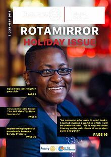 ROTAMIRROR HOLIDAY ISSUE
