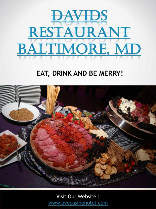 David's Restaurant Hanover, MD Davids Restaurant Baltimore, Md