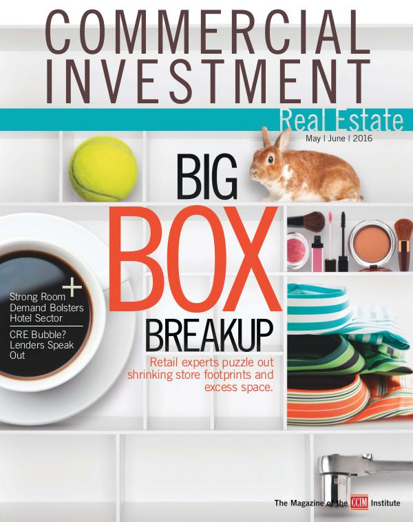 Commercial Investment Real Estate May/June 2016