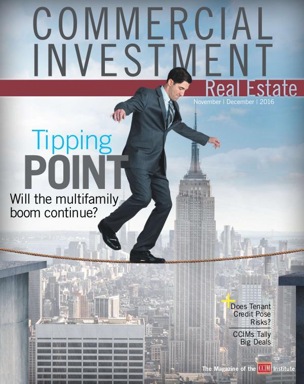 Commercial Investment Real Estate November/December 2016