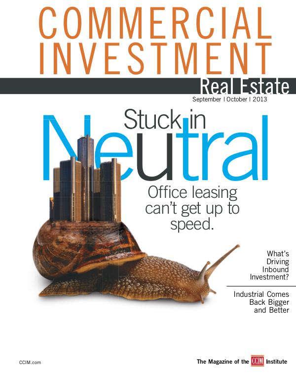Commercial Investment Real Estate September/October 2013