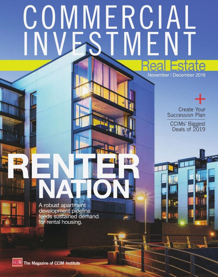 Commercial Investment Real Estate November/December 2019