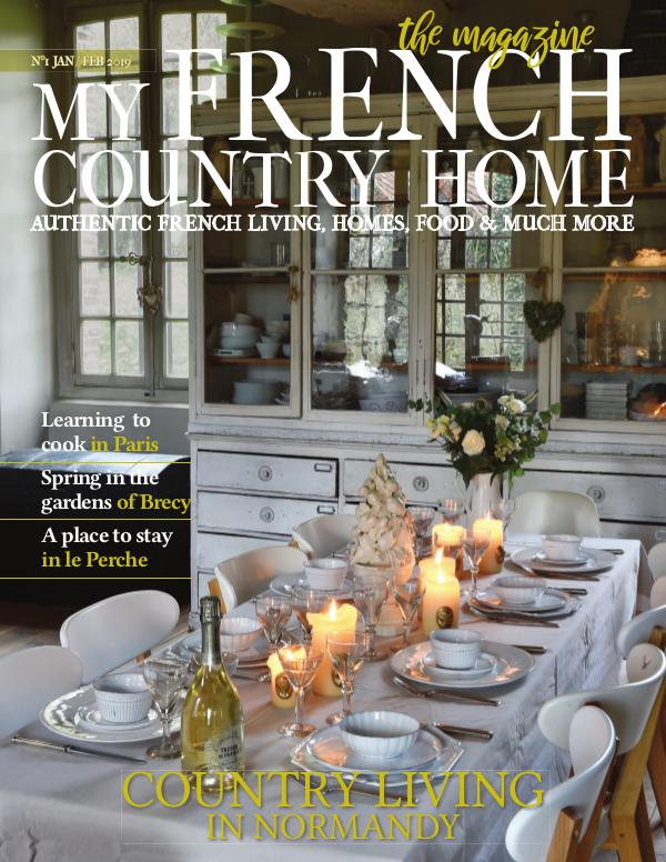 My French Country Home Magazine January/February 2019
