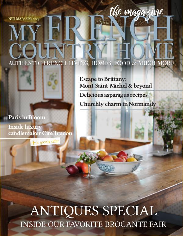 My French Country Home Magazine March/April 2019