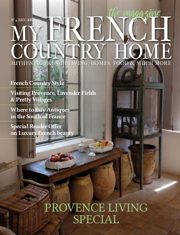 My French Country Home Magazine July/August 2019