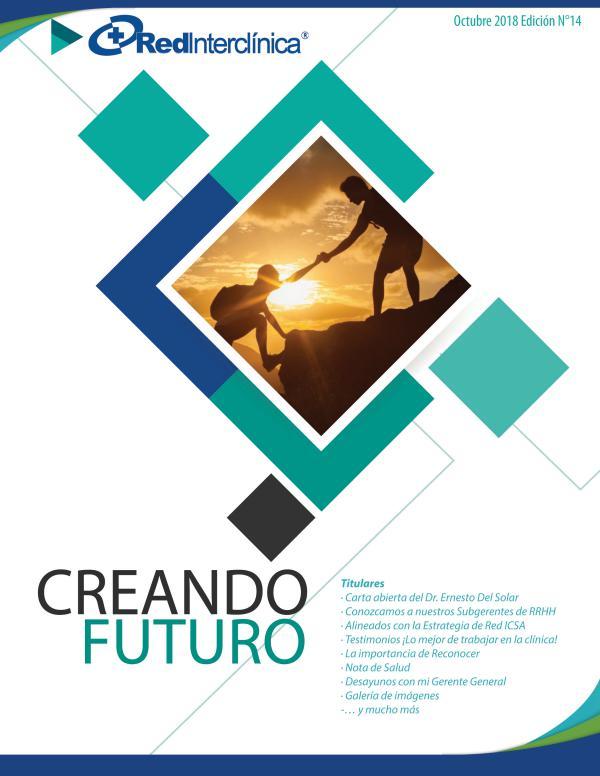 Creando Futuro - Boletín Digital de Red Interclínica Edición Octubre 2018