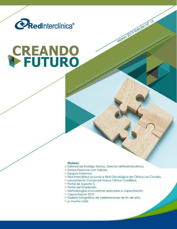 Creando Futuro - Boletín Digital de Red Interclínica Edición Marzo 2019