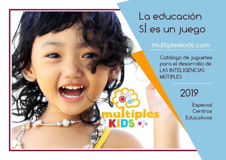 Catálogo Juguetes Inteligencias Múltiples Educación Infantil 2019
