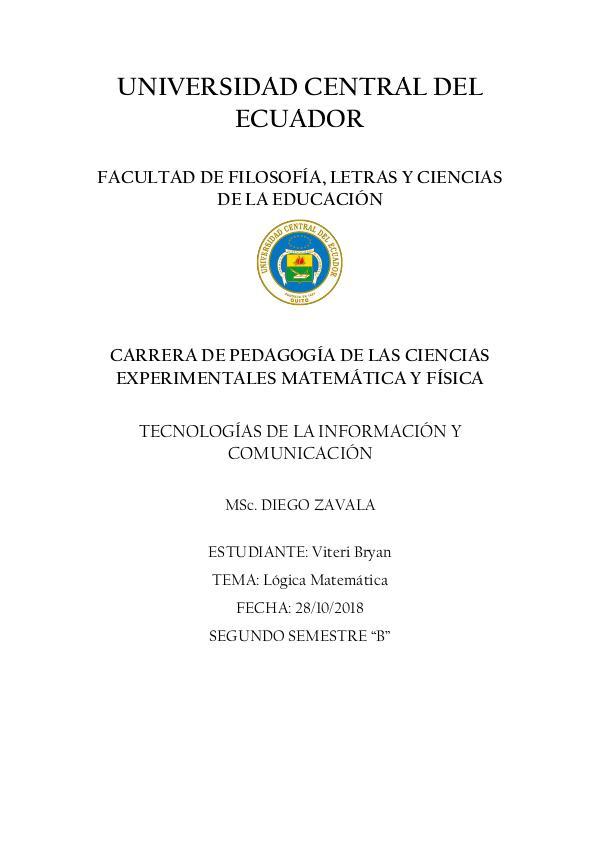 CONCEPTOS BÁSICOS DE LÓGICA PROPOSICIONAL Conceptos básicos