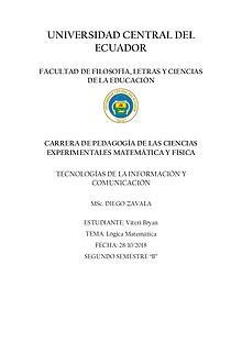 CONCEPTOS BÁSICOS DE LÓGICA PROPOSICIONAL