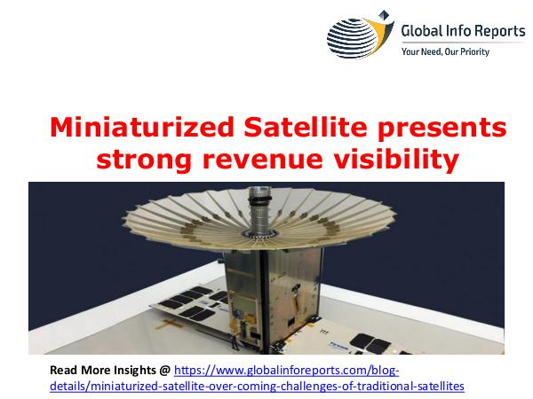 Airless Tires Miniaturized Satellite presents strong revenue vis