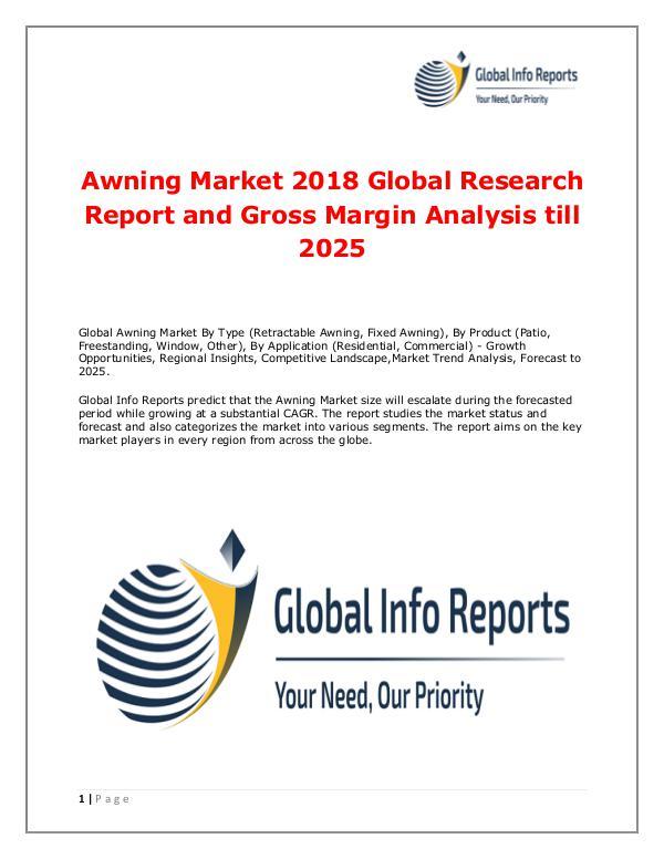 Awning Market 2018