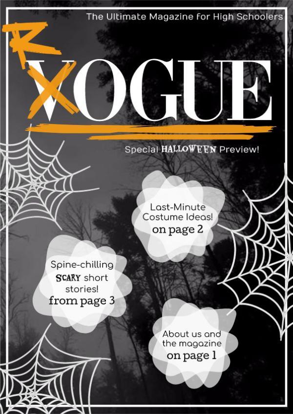 Rogue Halloween Edition ROGUEFINAL