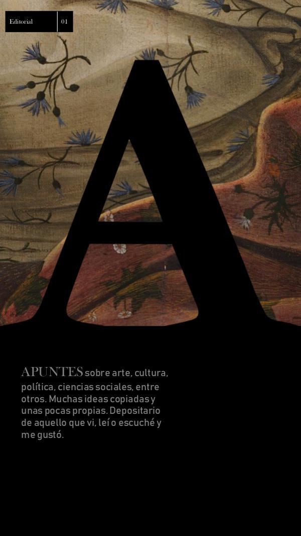 ZINE 1 Revista Apuntes