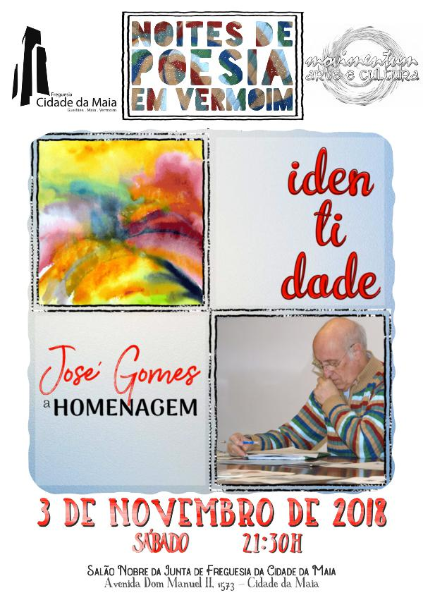 Noites de Poesia em Vermoim Novembro 2018