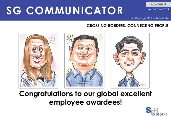 SG Communicator 2019-3 SG Communicator Issue No. 2019-3