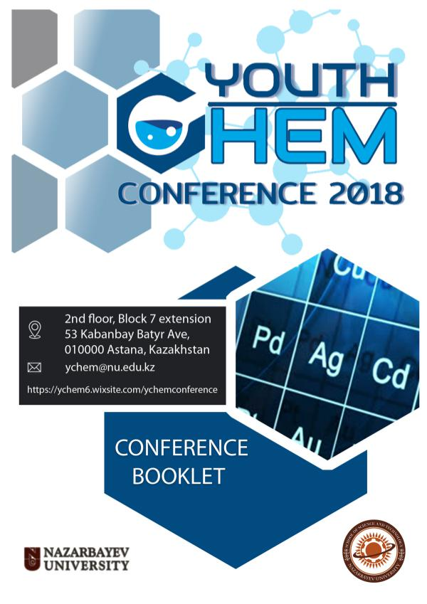 2nd Youth Chemistry Conference booklet