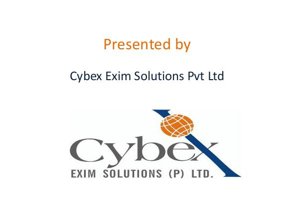 China Import Export Data - Cybex Exim Solutions China_Import_Export_Data-Cybex_Exim_Solutions