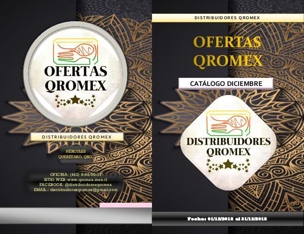 Catalogo Qromex Diciembre 2018 catalogo2018