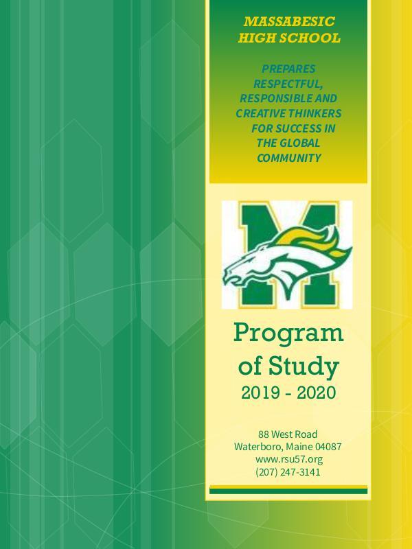 Program of Study 2019-2020 Program of Study _2019 - 2020