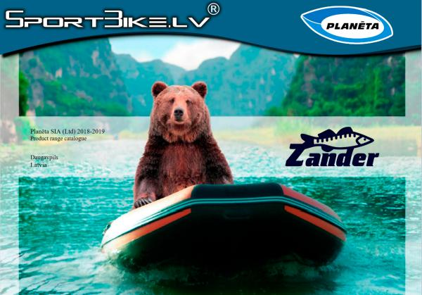 "Zander Boats Catalogue ""Planeta"" LTD, Daugavpils, Latvia Vol.1"