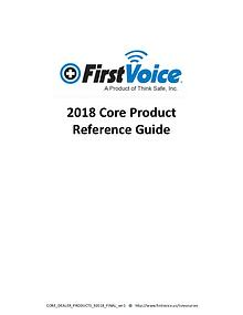 2018 Core Product Reference Guide