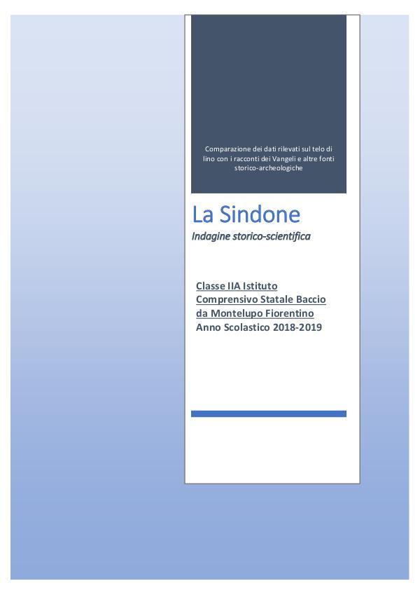 My first Magazine La Sindone classe 2A-converted