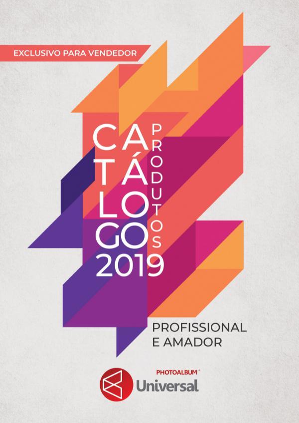 Catálogo de Produtos Photoalbum Universal 2019