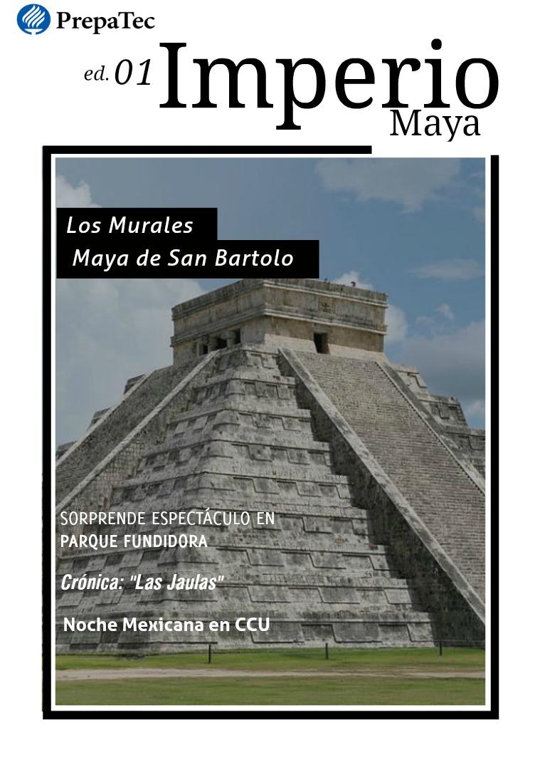 Mi primera revista Mayas