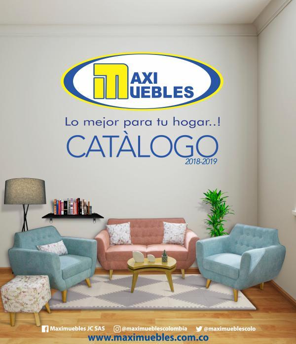 CATALOGO MAXIMUEBLES 2018-2019 Diciembre 2018