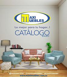CATALOGO MAXIMUEBLES 2018-2019