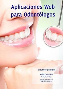 Aplicaciones Web para Odontólogos