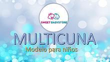 Multicunas para niños Sweet BabyStore