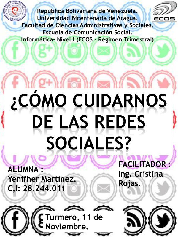 CÓMO CUIDARNOS DE LAS REDES SOCIALES. COMO CUIDARNOS DE LAS REDES SOCIALES.