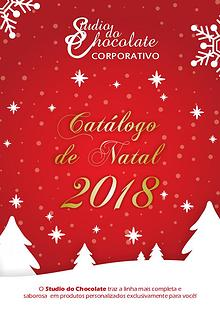 Catálogo Corporativo Studio do Chocolate Natal 2018