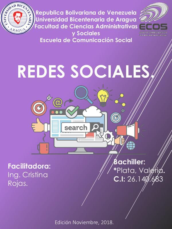 Redes sociales REDES SOCIALES