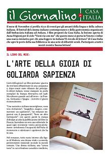 IL GIORNALINO DI CASA ITALIA