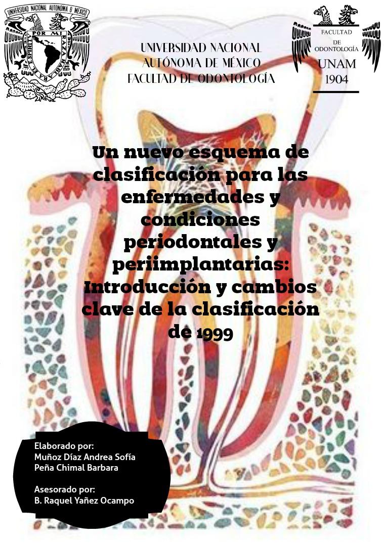 Un nuevo esquema de clasificación para las enfermedades y condiciones Volumen 1.