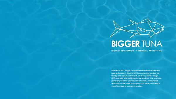 Bigger Tuna Portfolio Bigger_Tuna_General Portfolio Teaser_2016 (1)
