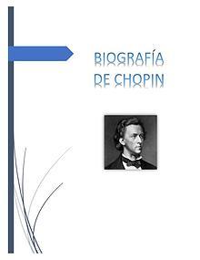 BIOGRAFÍA DE CHOPIN