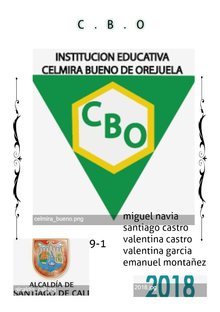 INSTITUCION EDUCATIVA CBO CELMIRA.BUENO.OREJUELA