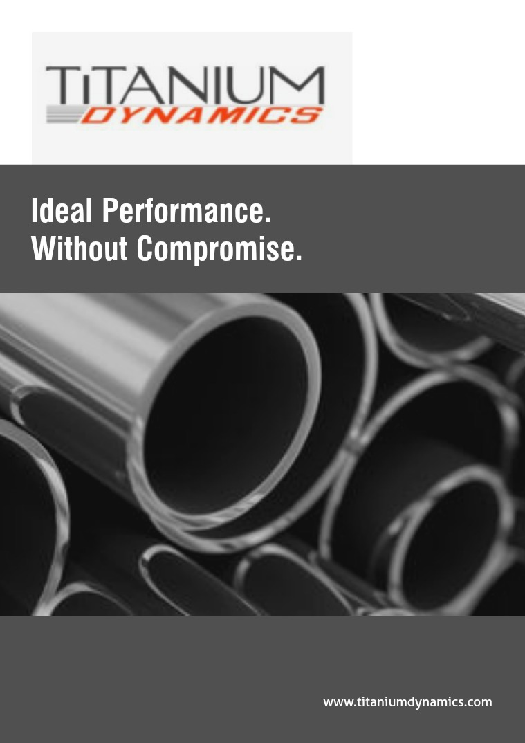 Titanium Dynamics Catalog 1