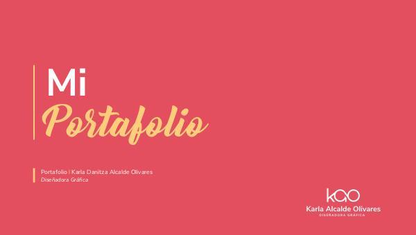 Portafolio Diseño Gráfico de Karla Alcalde Olivares Portafolio diseño Karla Alcalde