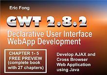 GWT 2.8.2 Declarative User Interface WebApp Development