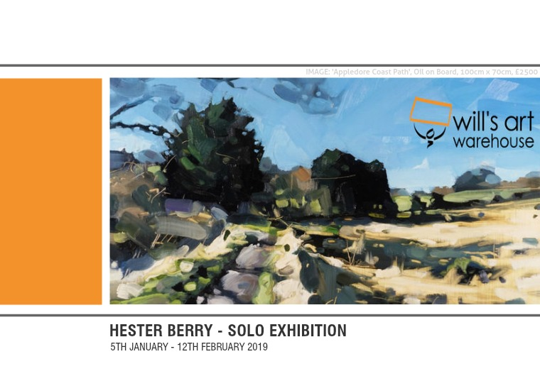 Hester Berry - Solo Exhibition 1